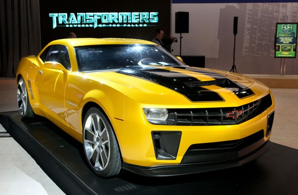 Chevrolet Camaro Bumblebee (sursa - autoblog.com)